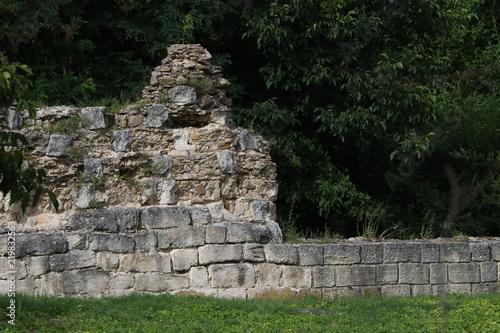 Foto op Aluminium Rudnes Ruins of the medieval city of the capital city of the First Bulgarian Empire Great Preslav (Veliki Preslav), Bulgaria.