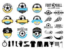 Set Of Vector Football (soccer...