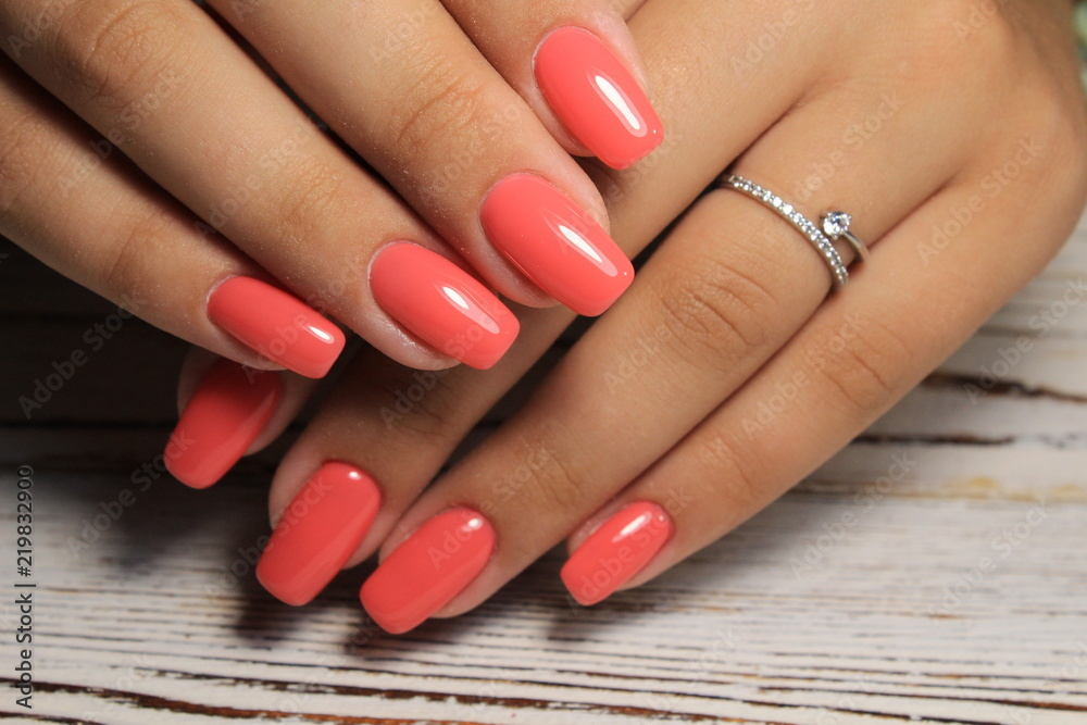 Fototapety, obrazy: beautiful long nails
