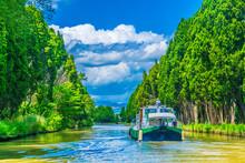 Canal Du Midi Near Carcassonne...