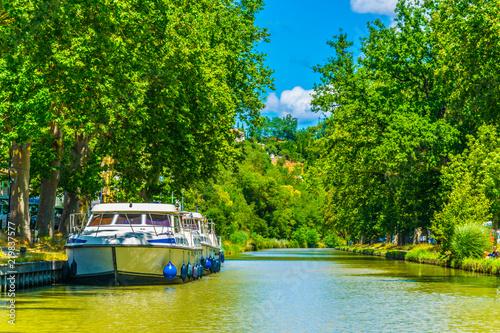 Fényképezés Canal du Midi near Carcassonne, France
