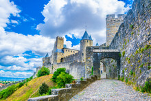 Fortification Of Carcassonne, France