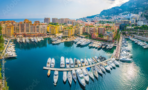 Port de Fontvieille in Monaco