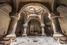 Geghard Monastery Interior Cav...