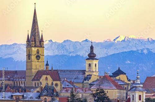 Fotografie, Obraz  Sibiu, Transylvania, Romania
