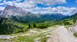 Plätzwiese Strudelkopf 2018-44   Aussicht auf die Plätzwiese Dolomiten Südtirol