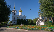 Borisoglebsky Monastery, Boris And Gleb Cathedral, Chapel Of The Holy Spirit, Dmitrov, Moscow Region, Russia