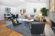 Modern Open-Concept Living area