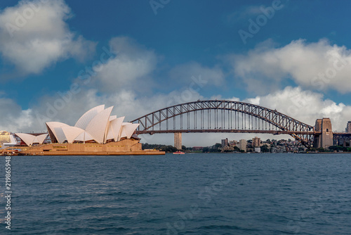 In de dag Australië Sydney Opera House, Australia
