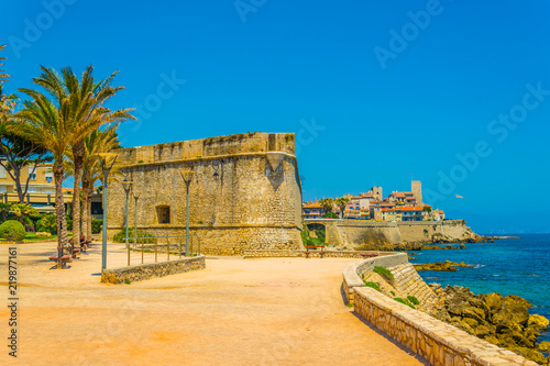 Photo Seaside view of Antibes, France