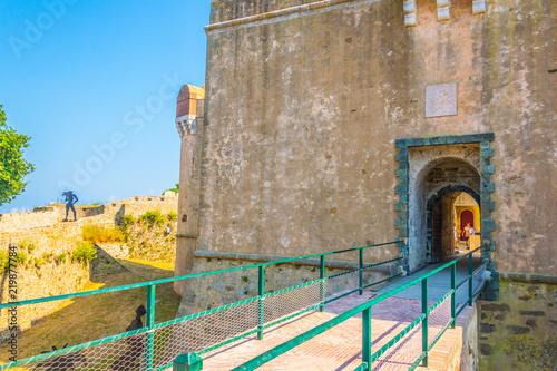 Tableau sur Toile Citadel of Saint Tropez, France