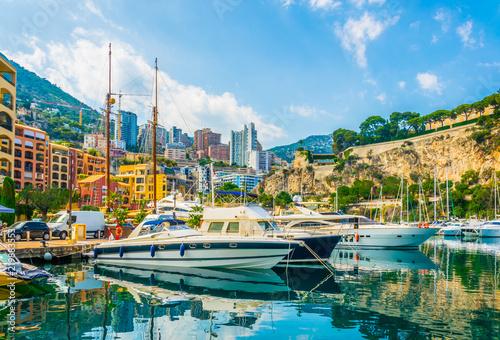 La pose en embrasure Turquie Old town of Monaco viewed from Port de Fontvieille