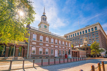 Independence Hall In Philadelphia, Pennsylvania USA