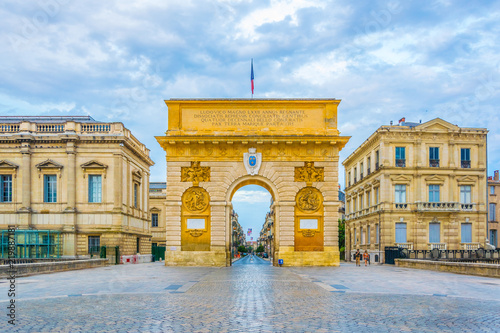 Arc de Triomphe in Montpellier, France Wallpaper Mural