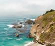 Rocky Calfornia Coastline