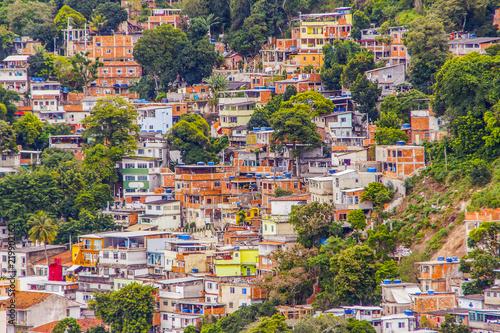 Fotografia, Obraz  slum in Copacabana Babylon