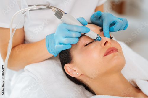 Photo  Cleansing procedure