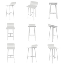 Bar Stool Furniture 3d Render ...