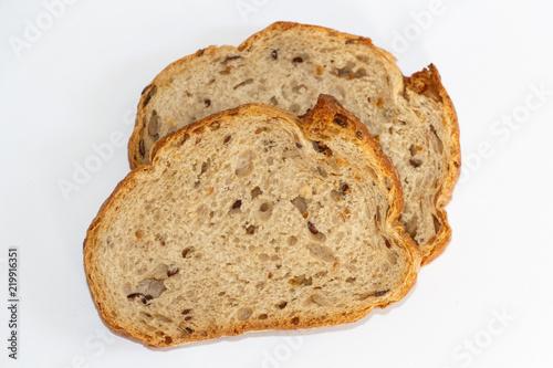 Valokuva Deux tranches de pain aux céréales