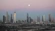 United Arab Emirates, Dubai, elevated view of the new Dubai skyline