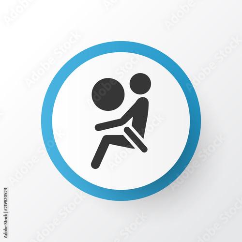 Airbag icon symbol Wallpaper Mural