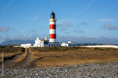 Fotografía The Point of Ayre lighthouse on a summers morning, Isle of Man, British Isles