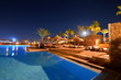night view of the pool, egypt