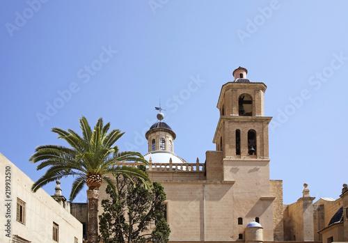 Tableau sur Toile Concatedral de Sant Nicolas de Bari in Alicante. Spain