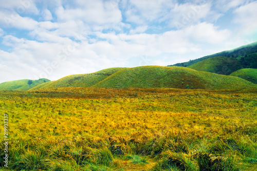 Photo  Teletubbies Hill in Bromo