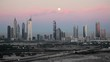 Dubai skyline, architecture & skyscrappers on Sheikh Zayed Road
