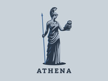 The Goddess Athena.