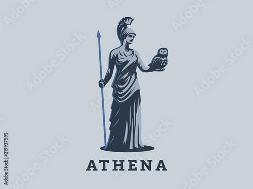 The goddess Athena. Fototapeta