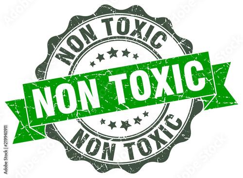 Obraz na plátně non toxic stamp. sign. seal