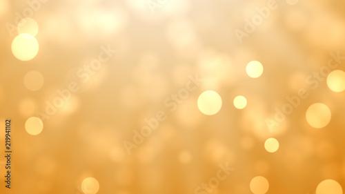 Obraz na plátně  Abstract Bokeh Lights With Colorful Background