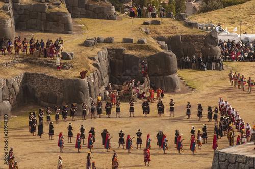 Canvastavla Cérémonie Inca, Inti Raymi, Cuzco Pérou