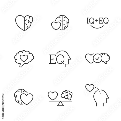 Photo  Emotional Intelligence EQ icons