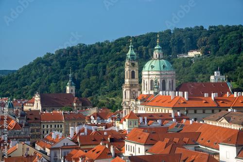 Staande foto Praag Scenic view of Mala Strana District in Prague, Czech Republic