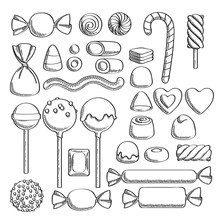 Sweets Set. Assorted Candies -...