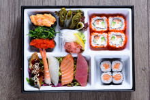 Bento Box With Seafood