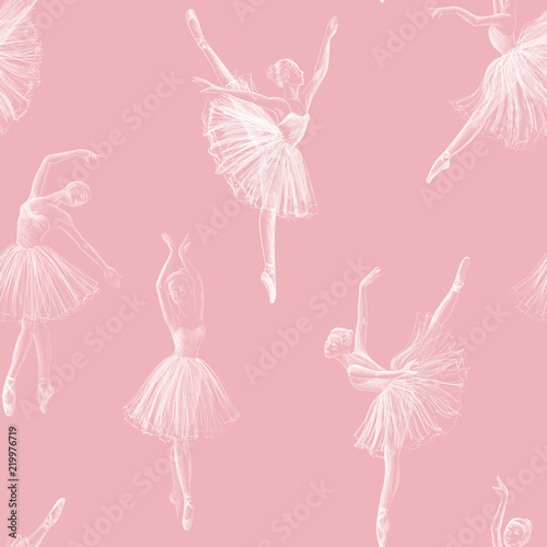 Photo Seamless ballerina