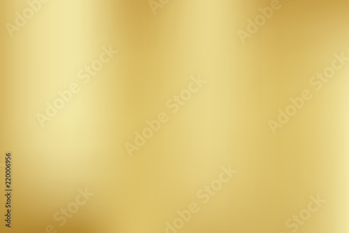 Canvas Print Vector gold blurred gradient style background