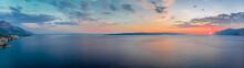 Sunset At Adriatic Sea In Summer