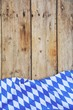 canvas print picture - Oktoberfest - Hintergrund Rautenmuster - Flagge