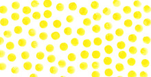 Yellow Circles Watercolor Background. Watercolor Textures Abstract Hand Painted Circles