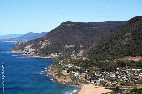 Foto op Canvas Australië Sea Cliff bridge, New South wales, Australia