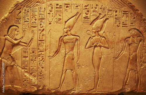 Cadres-photo bureau Egypte Ancient Egypt hieroglyphs