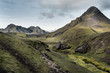 Iceland, South West, Laugavegur trail from Landmannalaugar to Porsmoerk