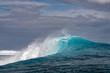 Surf wave tube detail