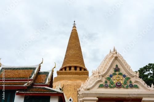 Phra Pathom Chedi (Big pagoda), Nakhon Pathom Province, Thailand. it is very beautiful