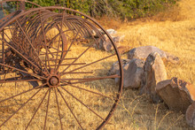 Rusted Metal Vintage Farm Mach...